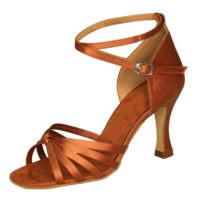 Central Attention Dark Tan Latin Salsa Ceroc Jive Dance Shoes
