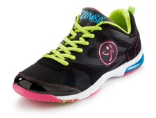 Black and Green Zumba Sneakers