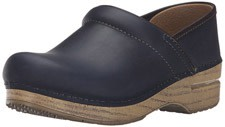 Dansko Women's Professional Mule with wooden design heel