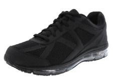 Black safeTstep Blast Runner Sneakers For Nurses