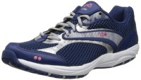 Blue and White RYKA Dash Women's Walking Shoes