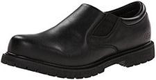 Skechers for Work Men's Cottonwood Goddard Twin Gore Slip Resistant Slip On