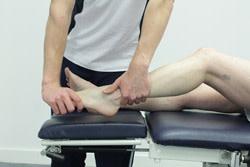 An Achilles tendonitis treatment method
