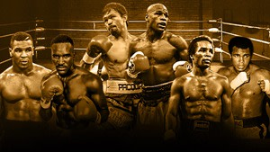 Boxing Legends including Mike Tyson, Manny Pacquiao and Muhammad Ali