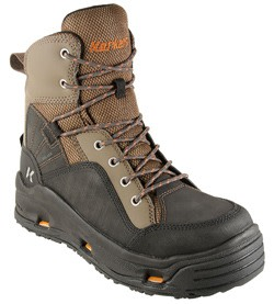 Korkers BuckSkin Wading Boot with Felt and Kling-On Outsoles