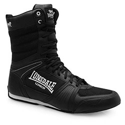 Lonsdale Contender Men's Boxing Boots Full Lace Up