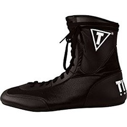 TITLE Speed-Flex Encore Mid Top Boxing Shoes