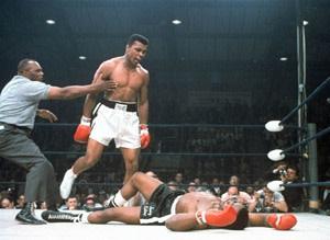 Muhammed Ali vs Sonny Liston
