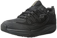 Black Skechers Rocker Bottom Soles