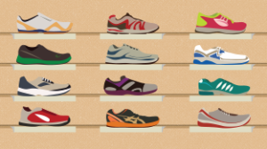 running shoes colors e