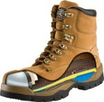 A detailed look inside steel toe safety boots