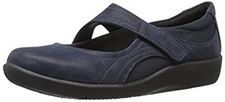 Clarks CloudSteppers Sillian Bella Mary Jane Flat