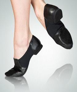 Slip on leather jazz sneakers