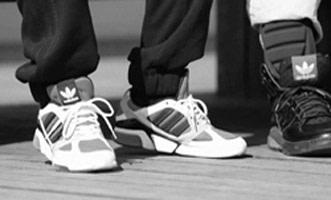 People Wearing Hip Hop Sneakers