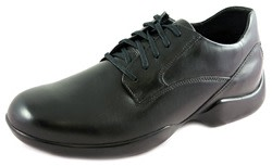 DiaResc Lace-Up Plain Toe Diabetic Shoes